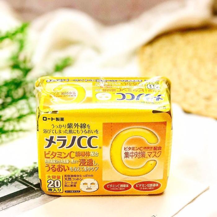 mặt nạ cc melano vitamin c
