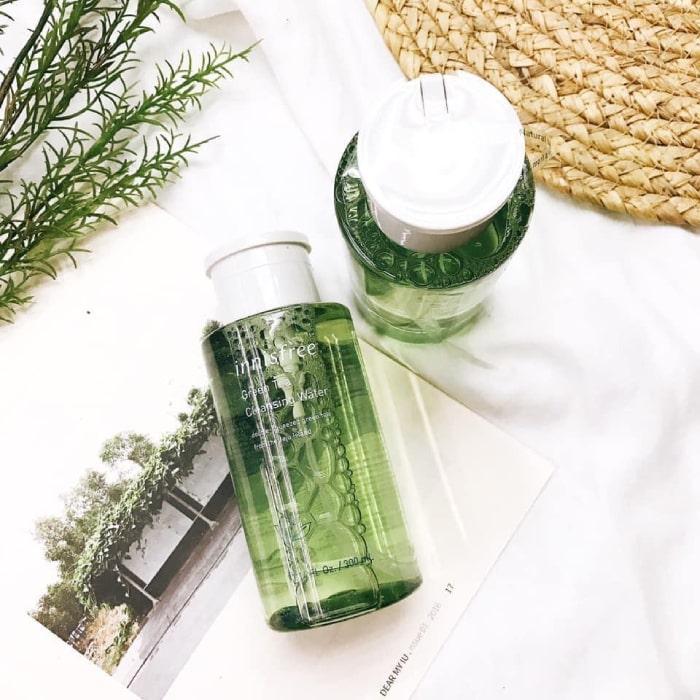 nước tẩy trang innisfreegreen tea cleansing water