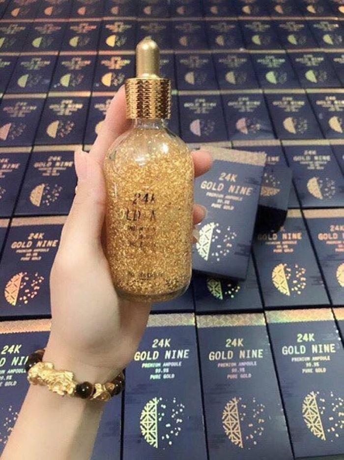 serum vàng 24k hàn quốc chính hãng