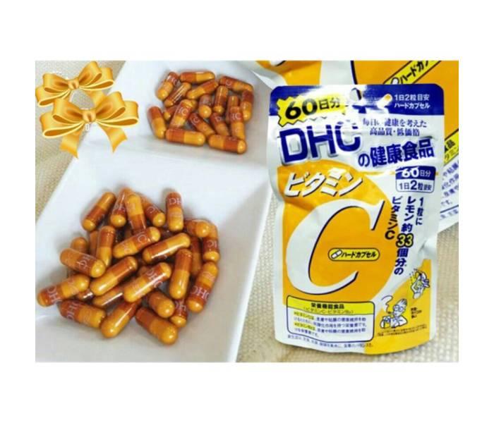 viên uống dhc vitamin c 60 ngày