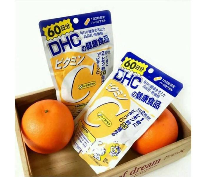 cách uống viên dhc vitamin c