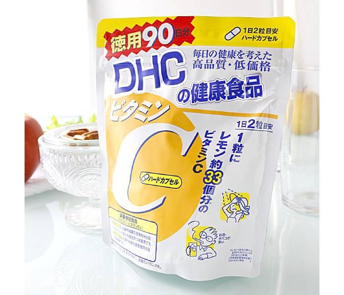 Cách uống viên DHC Vitamin C Nhật Bản Review chi tiết